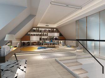 20万以上140平米别墅轻奢风格阁楼装修图片大全