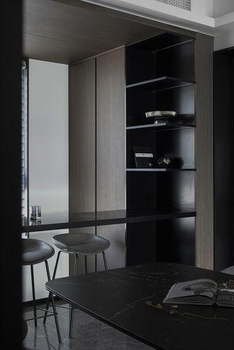 富裕型130平米四室四厅轻奢风格餐厅图片大全