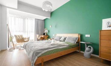15-20万100平米三室一厅北欧风格卧室图