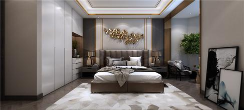 15-20万140平米四室三厅现代简约风格卧室设计图