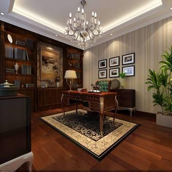 豪华型140平米欧式风格书房装修效果图