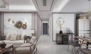 豪华型110平米三室两厅中式风格走廊装修图片大全