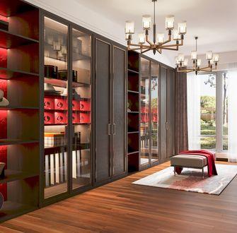 20万以上140平米别墅中式风格衣帽间图片大全
