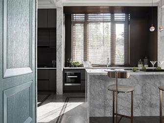 20万以上140平米三室两厅欧式风格厨房图片