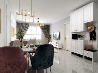 100平米三室一厅美式风格客厅图片大全