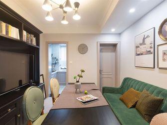 富裕型80平米田园风格客厅装修效果图