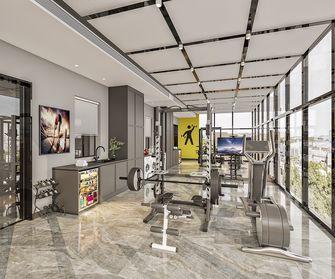 10-15万140平米三室两厅轻奢风格健身房效果图