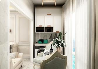 10-15万110平米三室两厅法式风格阳台装修效果图