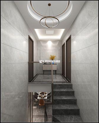 15-20万140平米复式现代简约风格楼梯间装修效果图