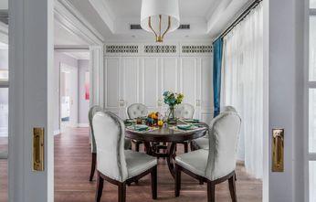 10-15万140平米三室两厅美式风格餐厅图