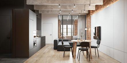 富裕型140平米三室一厅欧式风格客厅图片大全