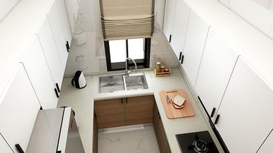 富裕型100平米欧式风格厨房图