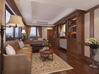 豪华型140平米四室两厅美式风格书房效果图