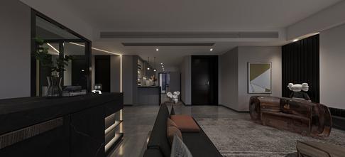 100平米三室两厅现代简约风格走廊装修图片大全