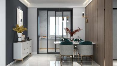 15-20万100平米三室两厅现代简约风格餐厅装修案例