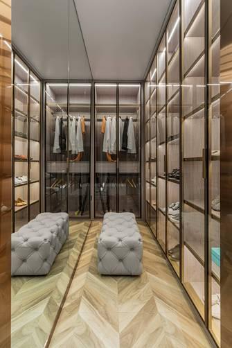 豪华型140平米别墅混搭风格衣帽间效果图