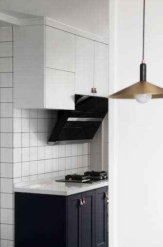 110平米现代简约风格厨房图