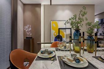 140平米四室一厅轻奢风格餐厅图片