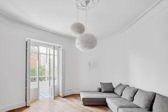 110平米三混搭风格客厅装修图片大全