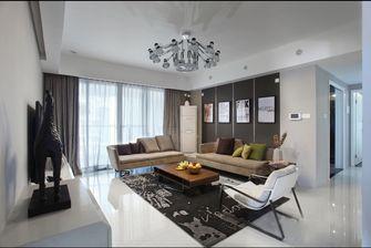 豪华型120平米三室一厅北欧风格客厅设计图