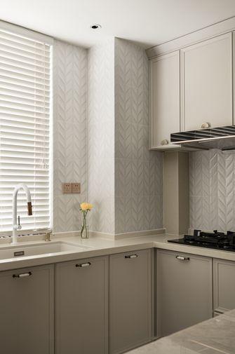 富裕型120平米三室两厅法式风格厨房设计图