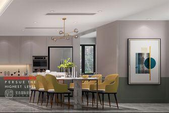 豪华型140平米别墅现代简约风格餐厅装修图片大全
