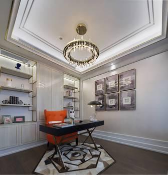 豪华型140平米四法式风格书房设计图