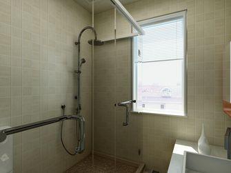 富裕型80平米中式风格卫生间设计图