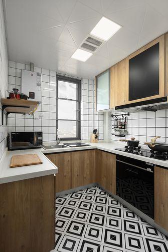 100平米三室一厅地中海风格厨房图片