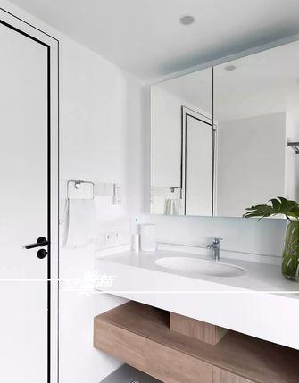富裕型120平米三室两厅现代简约风格卫生间图