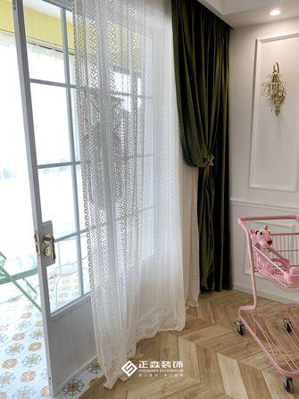 5-10万110平米三室两厅法式风格阳台图