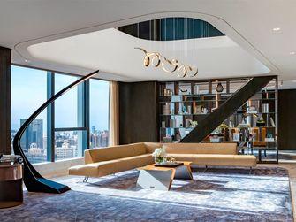 140平米复式轻奢风格客厅图片