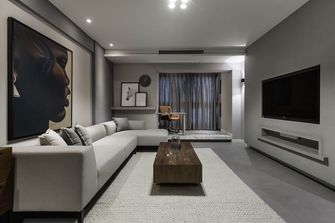 15-20万三室一厅现代简约风格客厅装修案例