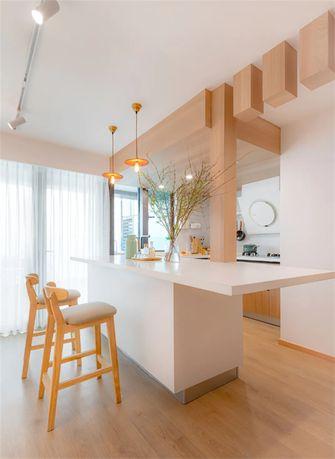 120平米复式日式风格餐厅设计图