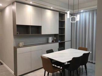 豪华型120平米四室两厅轻奢风格餐厅图片大全
