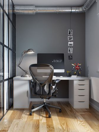 80平米公寓工业风风格客厅效果图