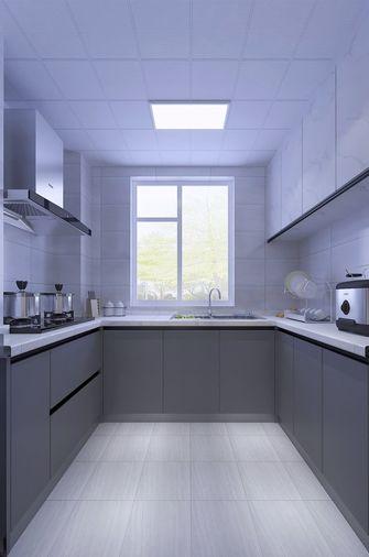 富裕型90平米现代简约风格厨房装修效果图