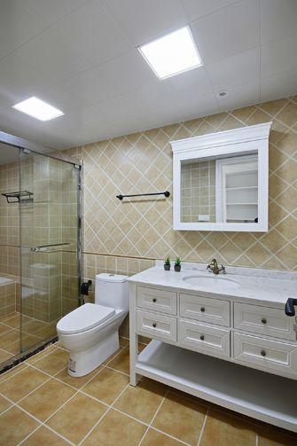 富裕型70平米美式风格卫生间装修图片大全