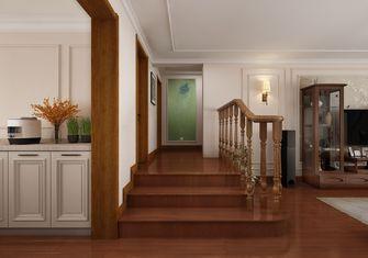 5-10万140平米三美式风格楼梯间装修图片大全