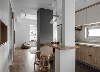 经济型90平米三室一厅现代简约风格厨房图