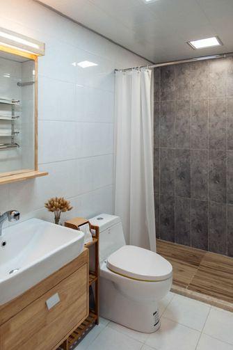 5-10万100平米三室一厅日式风格卫生间装修案例