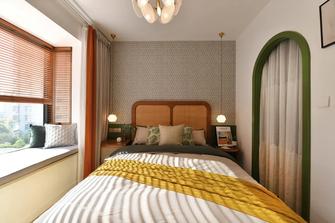 80平米三室两厅现代简约风格卧室图片大全