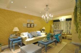 15-20万130平米四室一厅地中海风格客厅图片