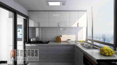 3-5万80平米三室两厅现代简约风格厨房图