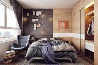 富裕型100平米混搭风格卧室图片大全