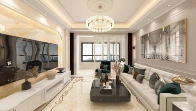 130平米四欧式风格客厅效果图