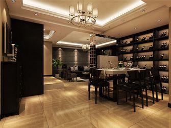 140平米四室一厅混搭风格餐厅装修效果图