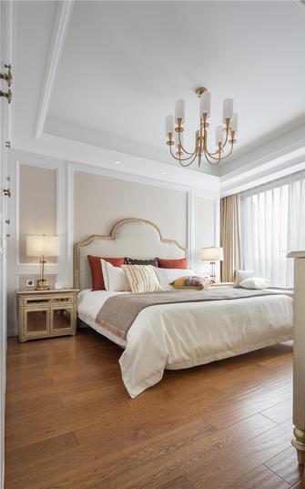 130平米欧式风格卧室设计图