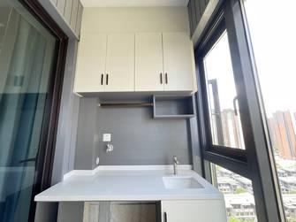 富裕型100平米三室两厅现代简约风格阳台效果图