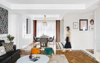 富裕型140平米三室两厅混搭风格餐厅图
